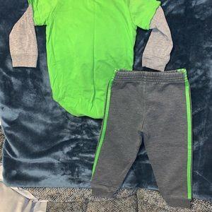 adidas Matching Sets - Baby Boy Adidas Matching Set